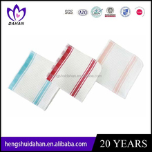 hot sale high quality 100%cotton small size dish cloths ,kitchen hand towel,machinery textile