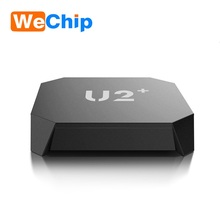 smart tv android ott box U2+ Amlogic S905X Android 6.0 TV Box Quad Core 64Bit 1GB 8GB H.265 UHD 4K 3D Mini PC WiFi AirPlay