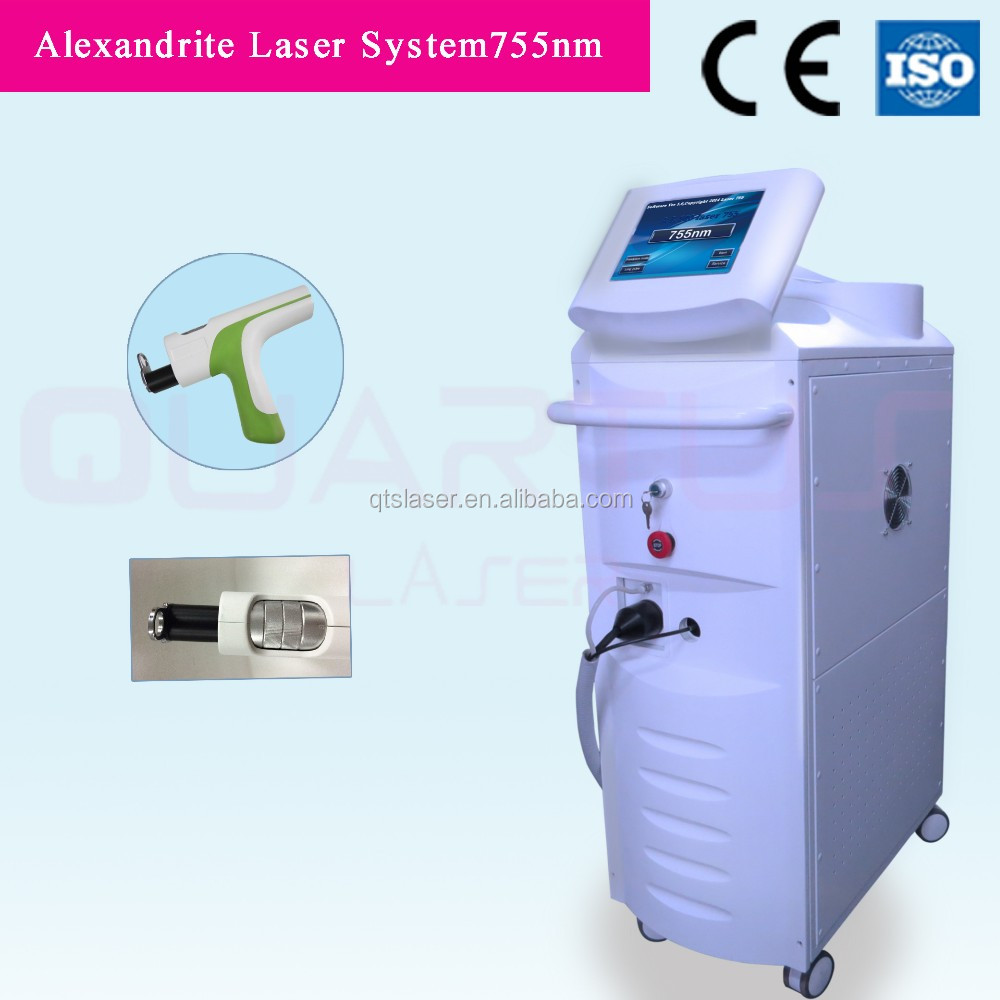 2016 best hair removal 755nm alexandrite laser fast hair removal laser machine