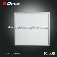 high brightness energy saving led light panel in zhongtian