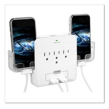 ul approved American US type power extention socket usb wall outlet with usb port surge protector