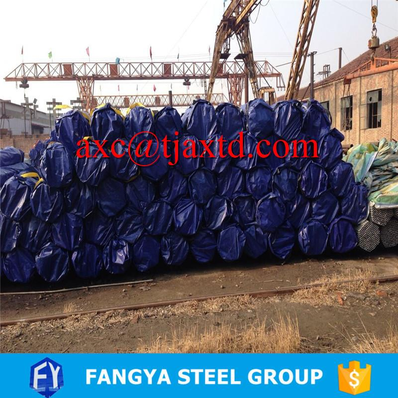 construction material ! good price zinc coated tubes galvanized steel tubes or water supply with CE certificate