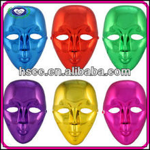 Eco-friendly Plastic Coating plain Pastic Face Mask