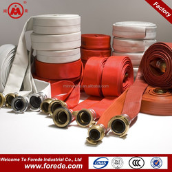 Canvas jacket fire hydrant hose