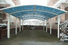HOT SALE polycarbonate rain protection two car garage tent