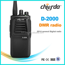New design Chierda digital texting army handheld FCC DMR radio aviation walkie talkie CD-D2000