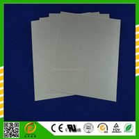 Laminated mica paper board sheet