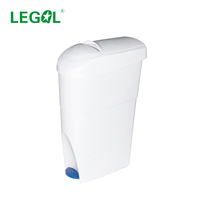 LD-19A 19L Liter Pedal Sanitary Disposal Unit Lady Sanitary Bin