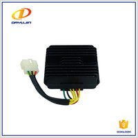 Motorcycle Accessories Big Shark Three Phase AC Voltage Regulator Rectifier Manufactures For Honda