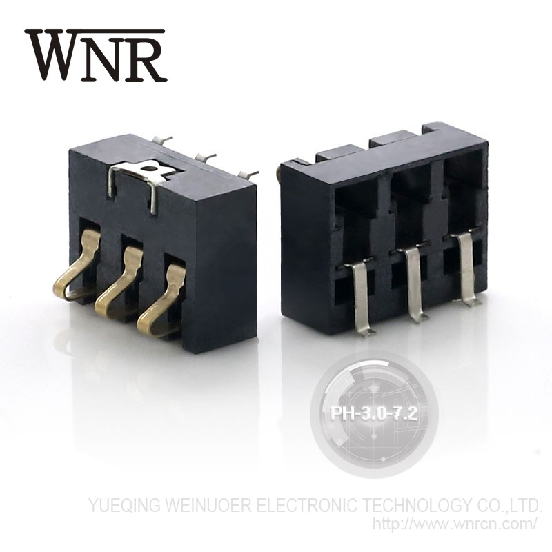 Good Quality WNRE mobile phone Battery Connector PH-3.0-7.2 smt Battery Charger Connector