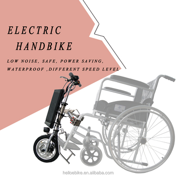 wholesale price 12'' 16'' 350w electric wheelchair handcycle handbike for handicap