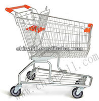 100L Supermarket Shopping Trolley(American style)