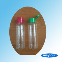 High Quality Plastic PET Empty Travel Size Bottles for Cosmetic