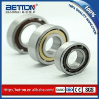 High speed bearing angular contact ball bearing 7009 45x75x16mm for mulch applicator