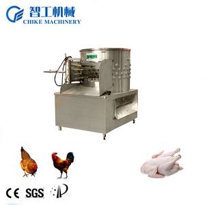 Hot selling full autometic defeathering machine/poultry slaughtering machine