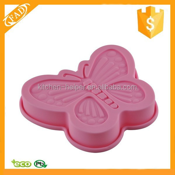 High Quality Non-stick Butterfly Shaped Biscuit Tools Cookie Cake Pastry Baking Mold
