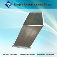 HVAC galvanized steel rectangular duct