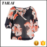 China supplier Best selling Cheap Beautiful ladies uniform blouse