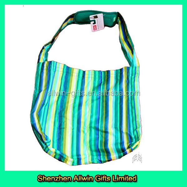 Promotional Design Tote Stripes Wholesale Reusable Shopping Bags