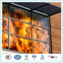 Clear Fire Resistant Glass , Fire-Resistant 2 hours