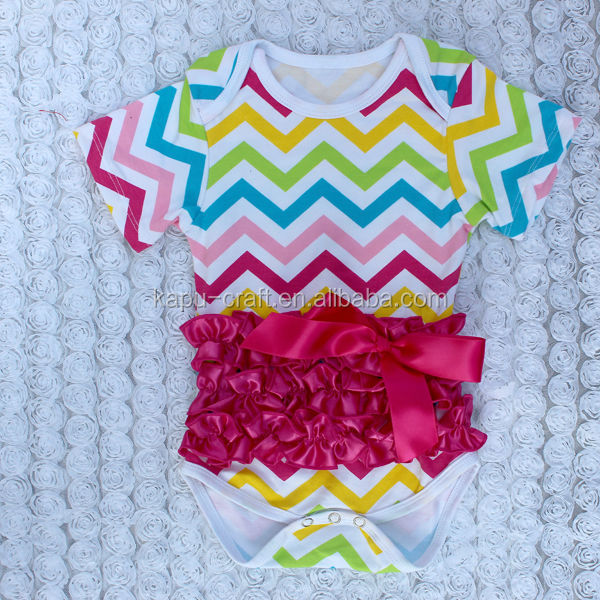 New rainbow chevron baby carters bodysuits,baby clothes