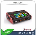 "HTRC HT206 AC/DC DUO 200W*2 20A*2 Dual Port 4.3"" Color LCD Touch Screen RC Balance Charger for Lilon/LiPo/LiFe/LiHV Battery"