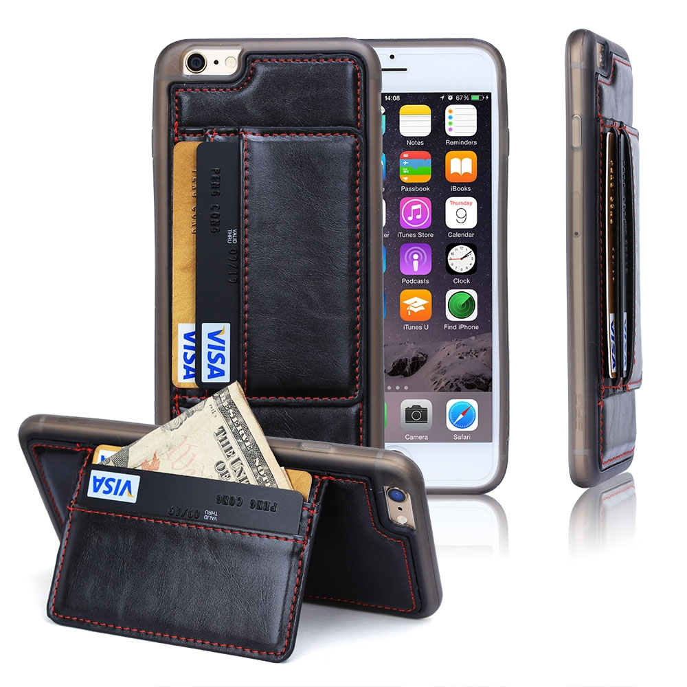BRG Mobile Phone Shell Shenzhen Leather Wallet Cell Phone Case For iPhone 6S Plus
