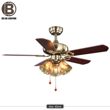 Function invisible blade ceiling fan light voltage 220v /110v with remote control