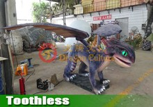 life size animal hippocampus toothless