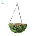 2018 eco-friendly Straw bird nest with iron chain