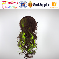 Hair accessory long wavy ponytail hair piece synthetic hair extensions wigs