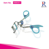 Best sales shining bling crystal inlaid blue rhinestone comely style blue eyelash curler