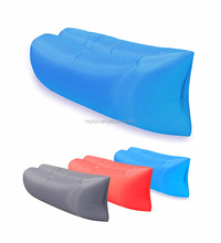 Sofa Bed Lazy Waterproof Lounger Chair Fast Inflatable Camping Air Sleeping Bag