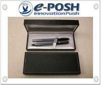 PU Leather wrapped gift pen box