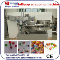 YB-350 Full automatic single twist packing machine lollipop candy wrapping