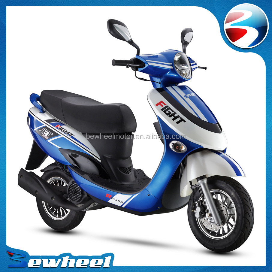 Bewheel 2016 hot sale cheap gas scooters mopeds 50cc buy for Cheap gas motor scooters