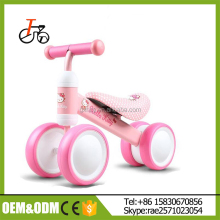2017 China Factory wholesale baby scooter for kids/four wheels kids balance bicycle from china/mini balance bike