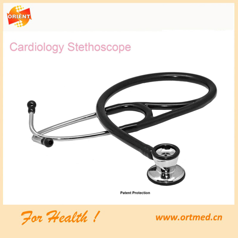 Dual Head Aluminum Stethoscope with FDA Certificate