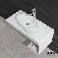 bathroom vanity tops with rectangular vessel sink