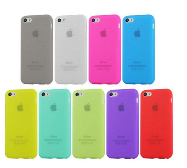 Mobile phone accessories phone case for iphone 5c case Matte TPU Material case