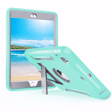 new design tablet silicone pc case for ipad mini 3 shockproof cover
