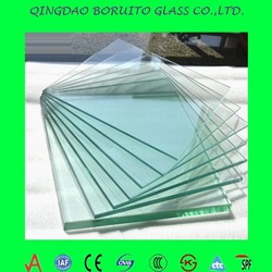 Clear float glass for windows and doors/solar glass