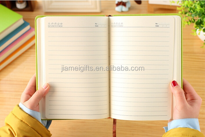 Popular A5 notebook importado da china,custom printing 7 subject notebook,OEM pu leather hardcover daily planner diary notebook