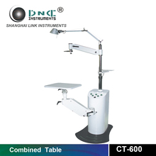 2016 best seller combined table CT-600 ophthalmic refraction chair unit