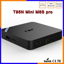 New arrival Quad Core S905 Android 5.1 TV Box t95n MINI M8S PRO internet tv box