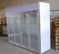 Commercial CE certification glass door flower display cooler