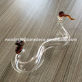 50ML Borosilicate Glass Bottle Snake Shaped Glass Bottle Hot Sale