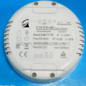 1-50W Dali dimmable Round LED driver