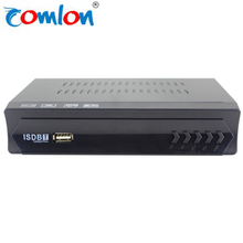 2018 Hot sale HD digital STB world max box MPEG4 H.264 Digital TV Receiver ISDB T smart tv box with user manual