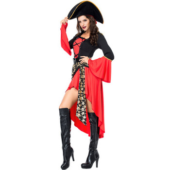 72866 2018 new halloween costumes cosplay suit sexy women pirate costumes